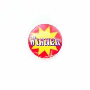 Vintage Winner Pin